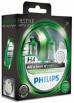 Autožárovky H4 12V Zelený design ColorVision Green Philips