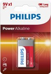 Baterie 9V Power Alkaline 6LR61 Philips