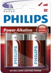 Baterie D Power Alkaline LR20 Philips