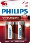 Baterie C Power Alkaline LR14 Philips