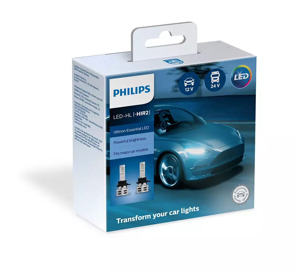Philips Led HIR2 Ultinon Essential 11012UE2X2