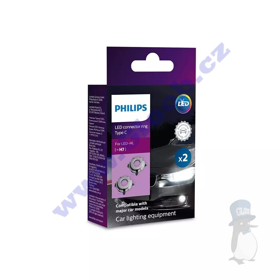 Philips Connector rings C LED H7 11172CX2