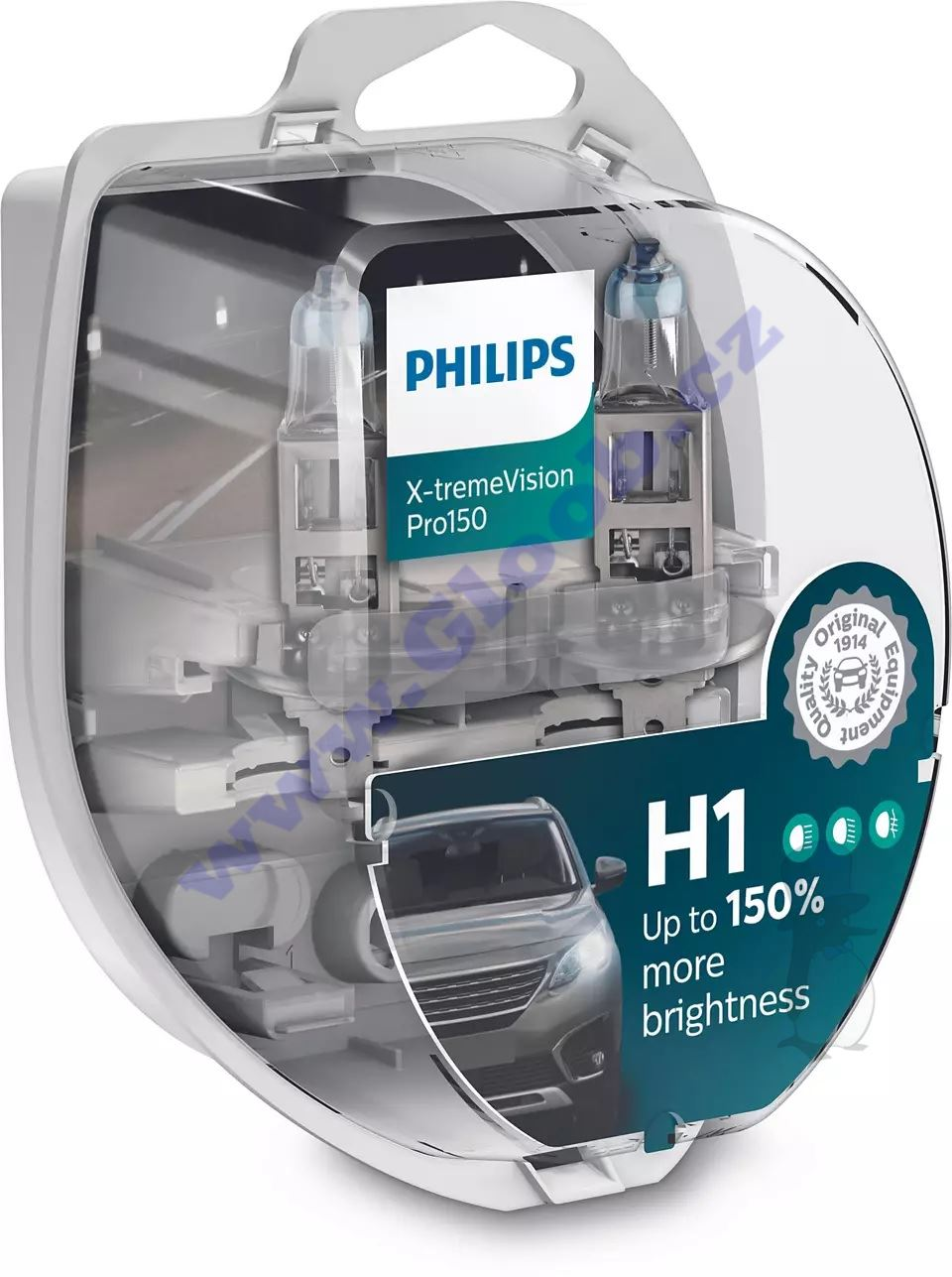 Philips X-tremeVision Pro150 12258XVPS2 H1 P14,5s 12V 55W