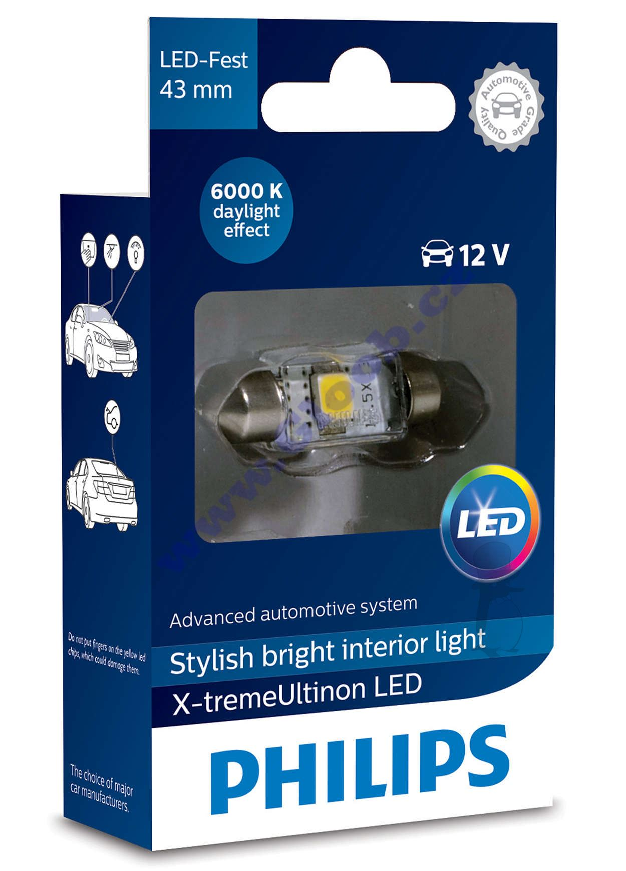 Autožárovka Philips LED C5W 12V X-TremeUltinon