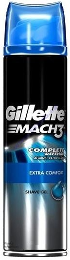 Gillette Mach 3 Extra Comfort gel na holení 200 ml